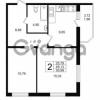 Продается квартира 2-ком 50.99 м² Воронцовский бульвар 1, метро Девяткино