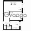 Продается квартира 2-ком 54.95 м² Полюстровский проспект 71, метро Лесная