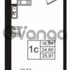Продается квартира 1-ком 24 м² Советский проспект 42, метро Рыбацкое