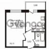 Продается квартира 1-ком 31 м² Советский проспект 42, метро Рыбацкое