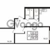 Продается квартира 2-ком 58.25 м² Европейский проспект 14, метро Улица Дыбенко