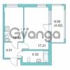 Продается квартира 1-ком 37.9 м² Центральная улица 9, метро Парнас