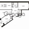 Продается квартира 3-ком 78 м² улица Шувалова 1, метро Девяткино