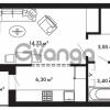 Продается квартира 1-ком 29.35 м² Центральная улица 57, метро Ладожская