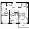 Продается квартира 2-ком 58.4 м² Центральная улица 57, метро Ладожская