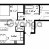 Продается квартира 2-ком 62.75 м² Центральная улица 57, метро Ладожская