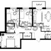 Продается квартира 3-ком 76.9 м² Центральная улица 57, метро Ладожская
