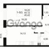 Продается квартира 1-ком 44 м² Малый пр. В.О. 64, метро Василеостровская