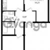 Продается квартира 2-ком 53 м² проспект Строителей 1, метро Улица Дыбенко