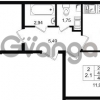 Продается квартира 2-ком 45 м² проспект Строителей 1, метро Улица Дыбенко