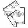 Продается квартира 1-ком 40.01 м² улица Шувалова 1, метро Девяткино