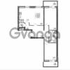 Продается квартира 2-ком 79.61 м² улица Шувалова 1, метро Девяткино