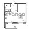 Продается квартира 1-ком 34.69 м² улица Шувалова 1, метро Девяткино
