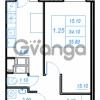 Продается квартира 1-ком 35.8 м² Бестужевская улица 54, метро Ладожская