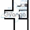 Продается квартира 1-ком 44.2 м² Бестужевская улица 54, метро Ладожская