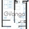 Продается квартира 1-ком 42.3 м² Бестужевская улица 54, метро Ладожская