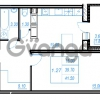 Продается квартира 1-ком 41.5 м² Бестужевская улица 54, метро Ладожская