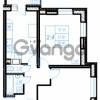 Продается квартира 2-ком 58.9 м² Бестужевская улица 54, метро Ладожская