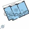 Продается квартира 2-ком 75 м² Балтийский бульвар 1, метро Проспект Ветеранов
