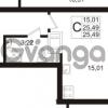 Продается квартира 1-ком 25 м² Европейский проспект 1, метро Улица Дыбенко