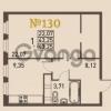 Продается квартира 1-ком 43 м² проспект Энгельса 2, метро Черная Речка