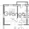 Продается квартира 1-ком 50 м² улица Фёдора Абрамова 16к 1, метро Парнас