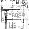 Продается квартира 2-ком 53 м² улица Фёдора Абрамова 16к 1, метро Парнас