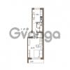 Продается квартира 1-ком 39.3 м² Гаражный проезд 1, метро Ладожская