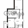 Продается квартира 2-ком 56 м² Комендантский проспект 53к 1, метро Комендантский проспект