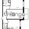 Продается квартира 2-ком 52 м² Комендантский проспект 53к 1, метро Комендантский проспект