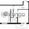 Продается квартира 1-ком 48 м² Комендантский проспект 53к 1, метро Комендантский проспект