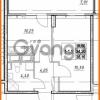 Продается квартира 1-ком 34.2 м² проспект Строителей 7, метро Улица Дыбенко