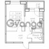 Продается квартира 1-ком 34.04 м² Юнтоловский проспект 53к 4, метро Старая деревня