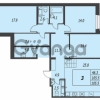 Продается квартира 3-ком 105 м² улица Адмирала Трибуца 7, метро Автово