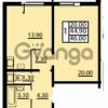 Продается квартира 1-ком 46 м² Маршала Блюхера 12АЭ, метро Лесная