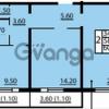 Продается квартира 2-ком 60.3 м² Маршала Блюхера 12АЭ, метро Лесная