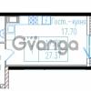 Продается квартира 1-ком 29.3 м² проспект Обуховской обороны 195, метро Пролетарская