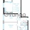 Продается квартира 2-ком 80.11 м² проспект Обуховской обороны 195, метро Пролетарская
