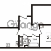 Продается квартира 2-ком 56 м² улица Пионерстроя 29, метро Проспект Ветеранов
