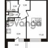 Продается квартира 1-ком 34 м² улица Пионерстроя 29, метро Проспект Ветеранов