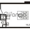 Продается квартира 1-ком 27 м² улица Пионерстроя 29, метро Проспект Ветеранов