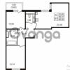 Продается квартира 2-ком 59 м² улица Пионерстроя 27, метро Проспект Ветеранов
