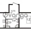 Продается квартира 1-ком 38 м² улица Пионерстроя 27, метро Проспект Ветеранов
