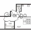Продается квартира 2-ком 52 м² улица Пионерстроя 27, метро Проспект Ветеранов