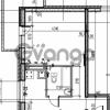Продается квартира 1-ком 35 м² Первомайская улица 17к 1, метро Рыбацкое