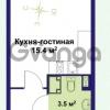 Продается квартира 1-ком 24 м² улица Крыленко 1, метро Улица Дыбенко