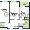Продается квартира 2-ком 59 м² улица Крыленко 1, метро Улица Дыбенко