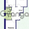 Продается квартира 2-ком 63 м² улица Крыленко 1, метро Улица Дыбенко