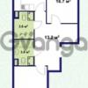 Продается квартира 2-ком 66 м² улица Крыленко 1, метро Улица Дыбенко