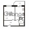 Продается квартира 1-ком 37.33 м² Школьная улица 7к 2, метро Купчино